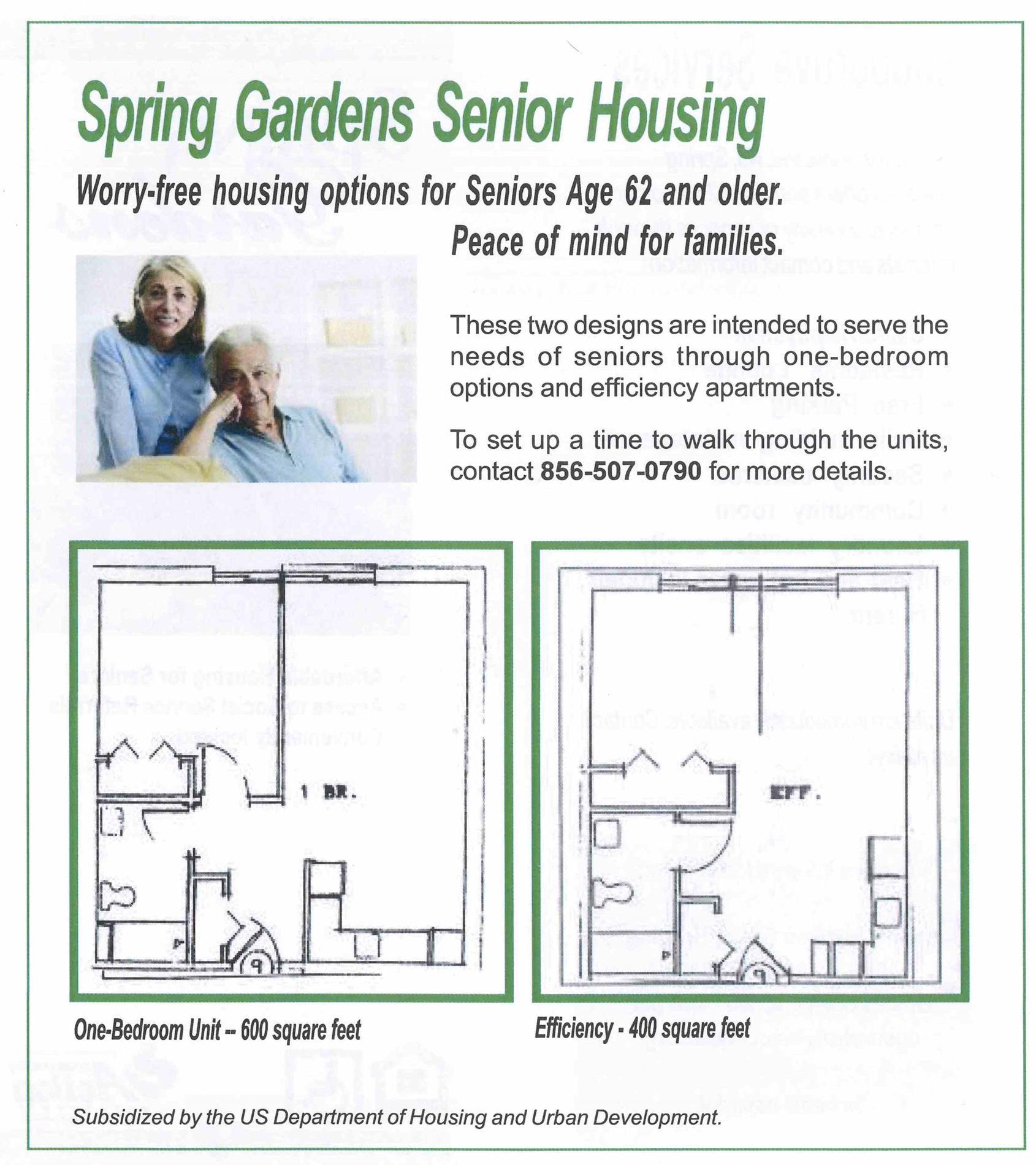 Spring Gardens Layout