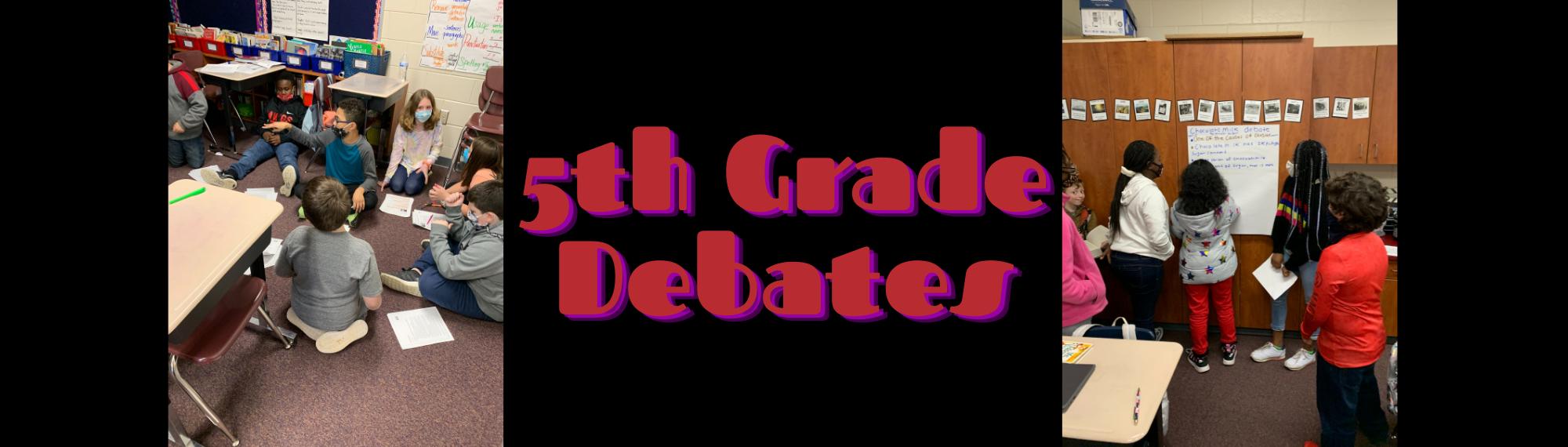 5th Grade Debates