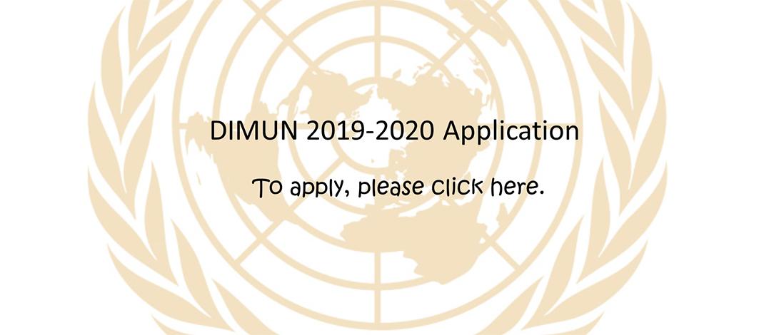 DIMUN Application