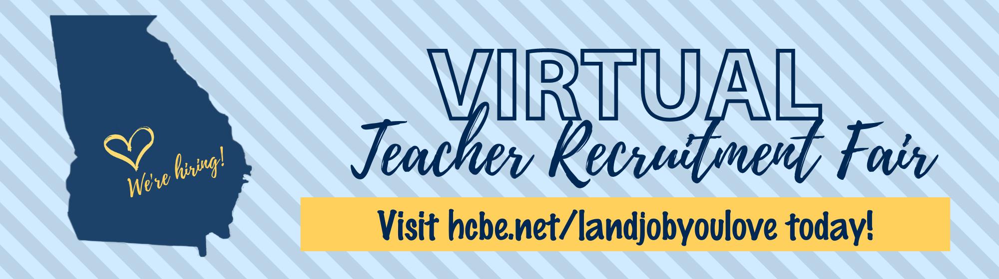 Updated Teacher Recruitment Fair