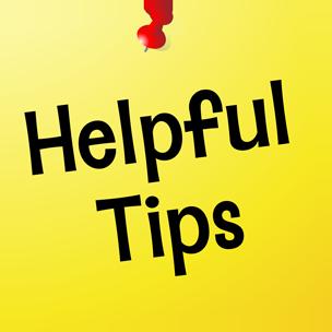Helpful Tips link