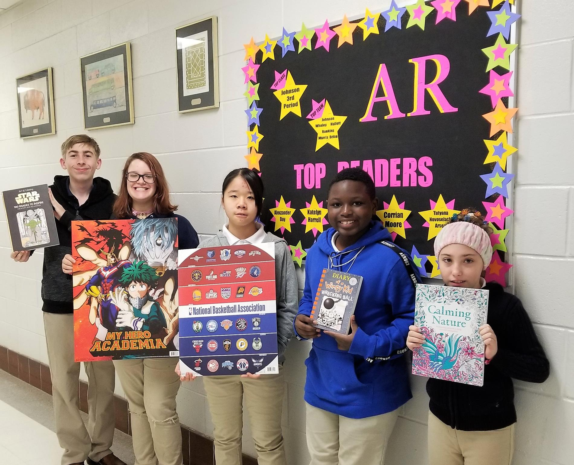 AR Top Readers
