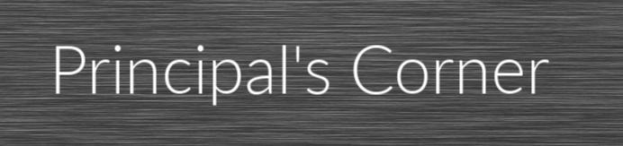 principal's corner tab and link