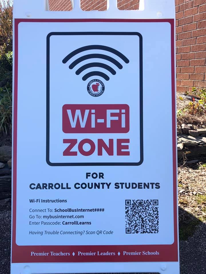 Wifi Zone Poster