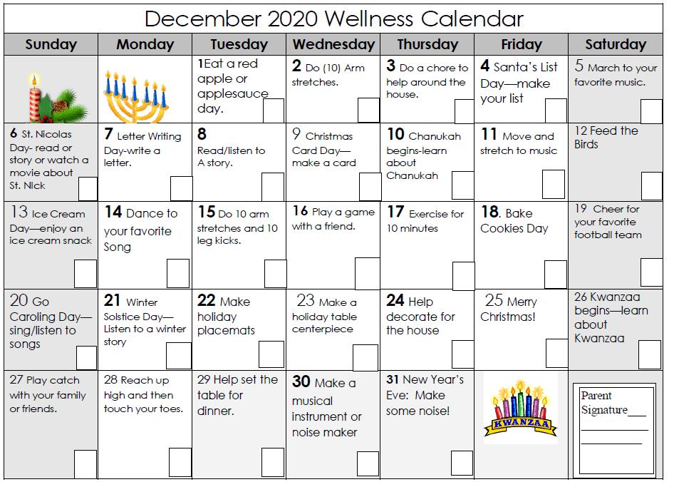 December Wellness