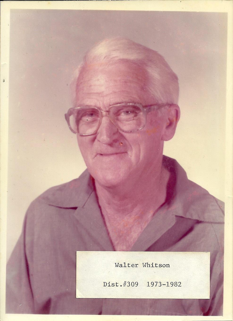 Walter Whitson