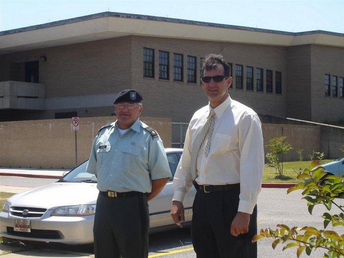 LTC Adams & Mr. Rowell