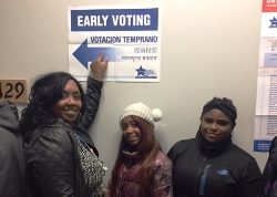 #EarlyVoting