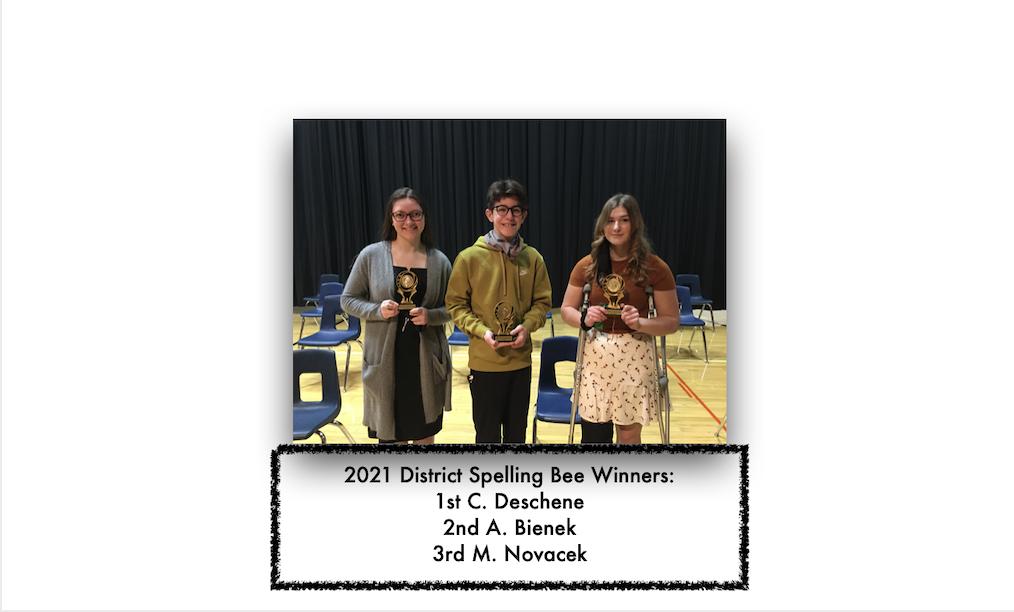 2021 Spelling Bee winners
