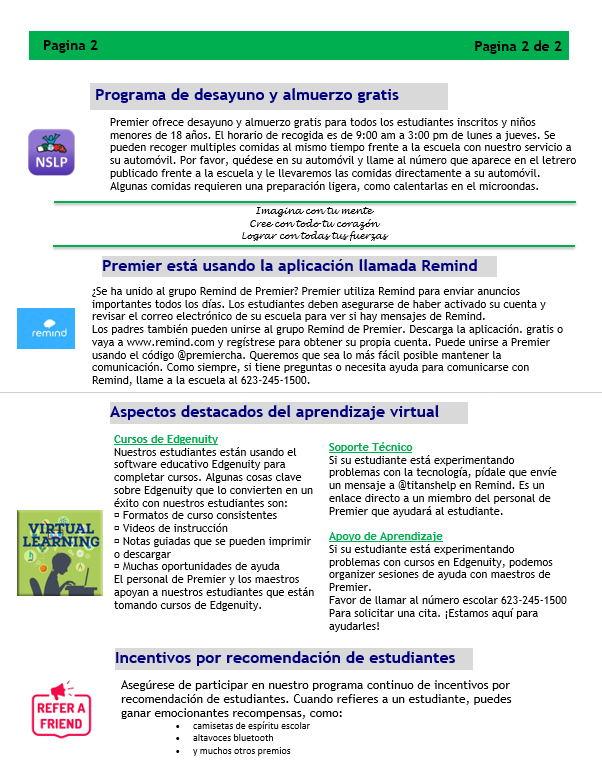 Newsletter Spanish page 2  12.18.20