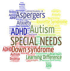Disabilities Word Cloud