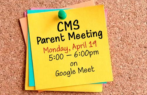 CMS Parent Meeting