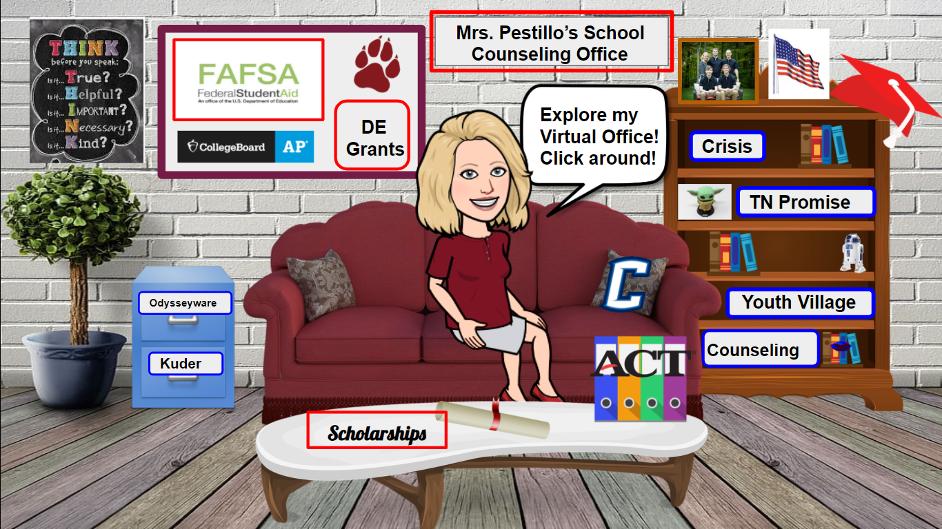 Welcome to Mrs. Pestillo's office!