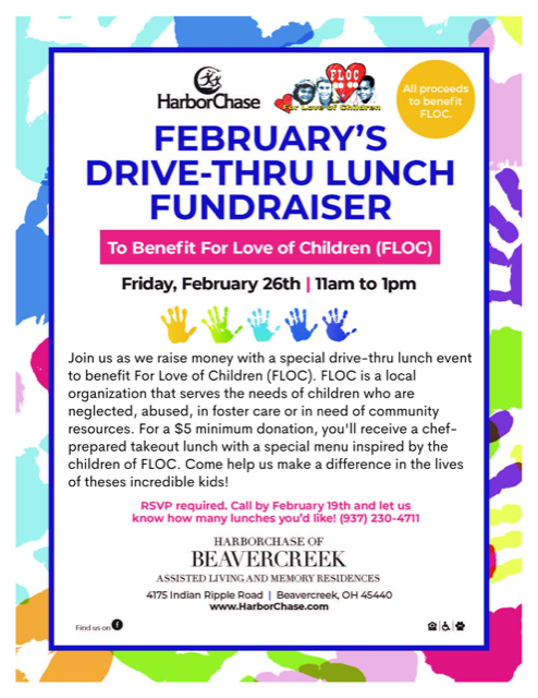 HarborChase Lunch Fundraiser