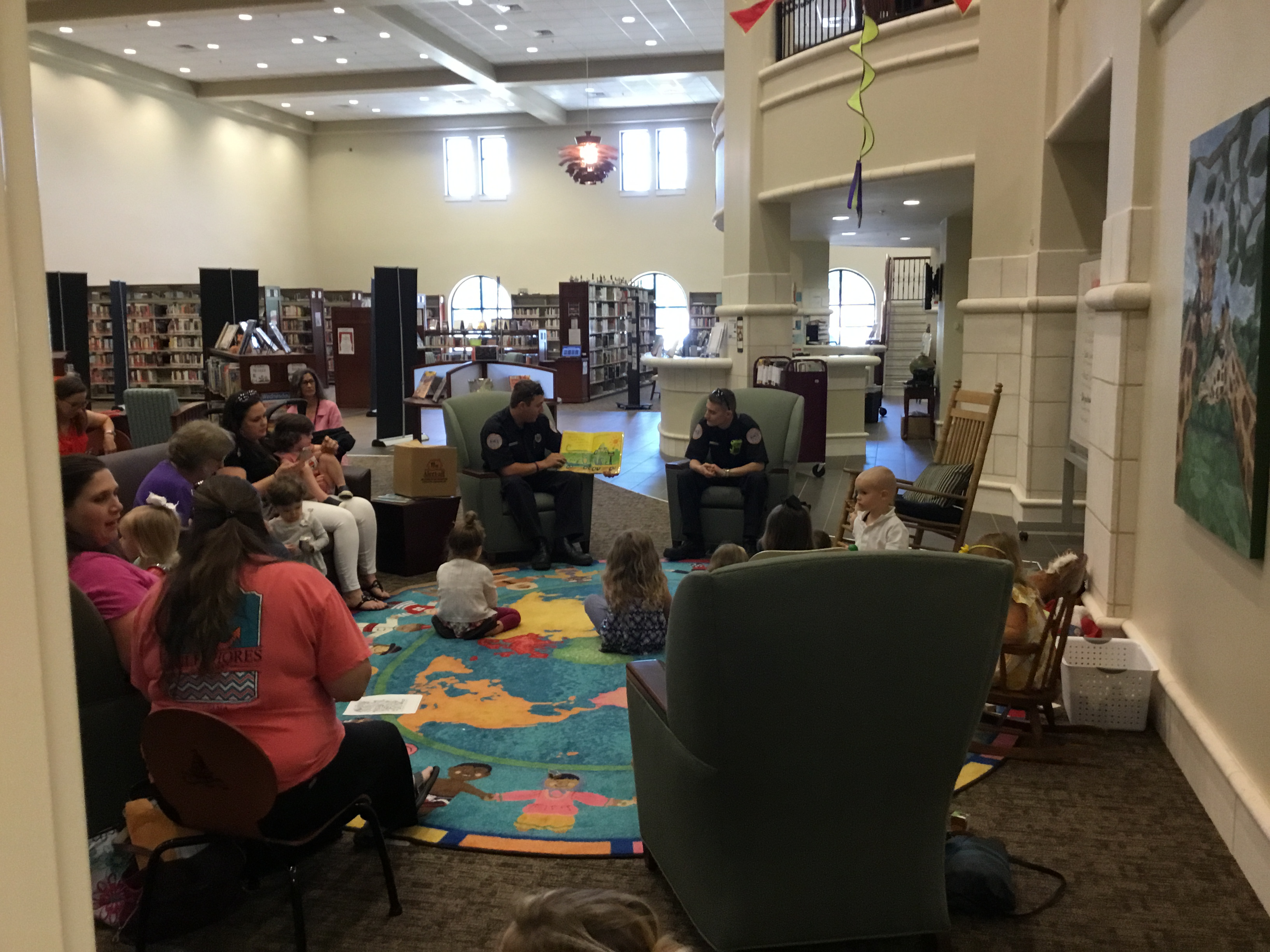 Spanish Fort Fire Department Storytime 2018