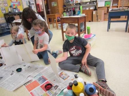 First grade art project