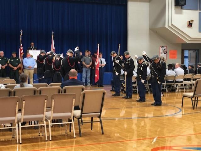 JROTC Veteran's Day Program