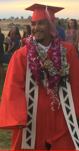 Evan Felipe Mitchell graduate 2021