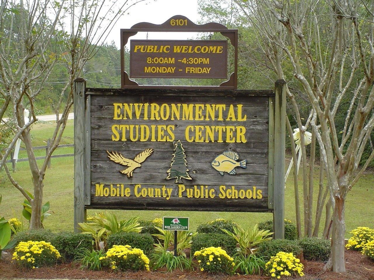 Environmental Studies Center sign