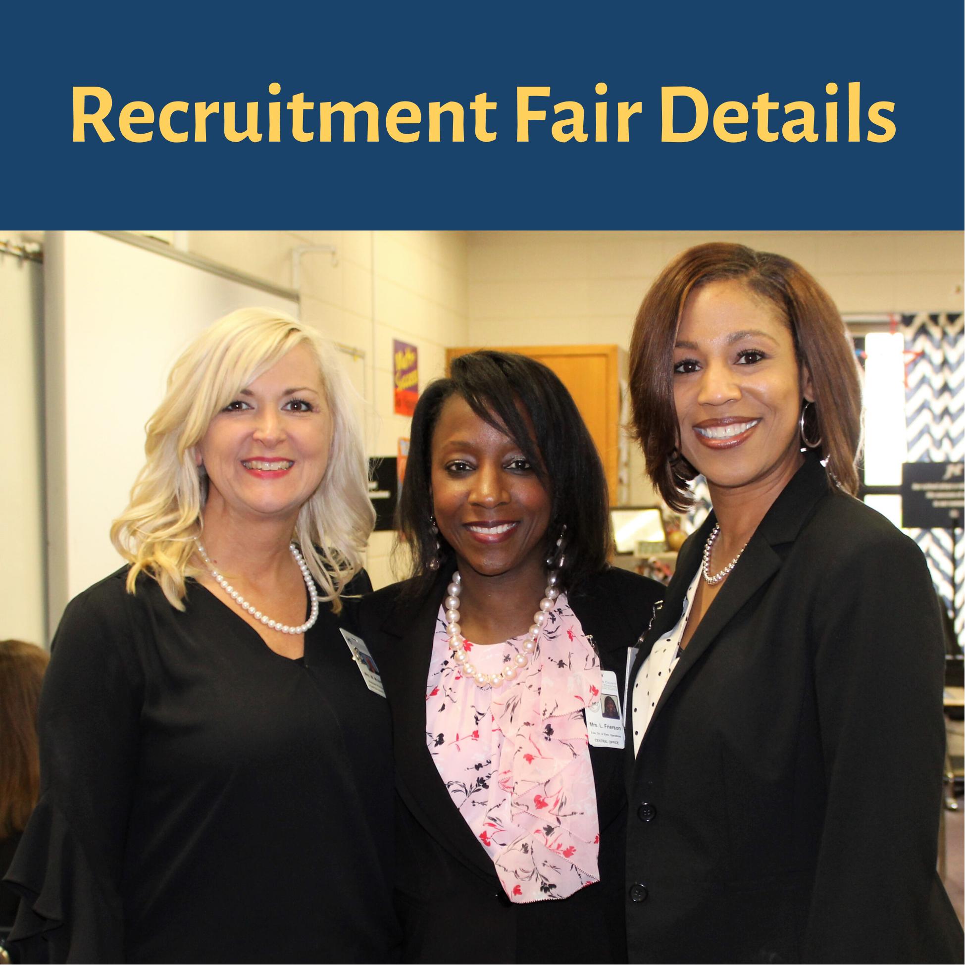 Recruitment Fair Details