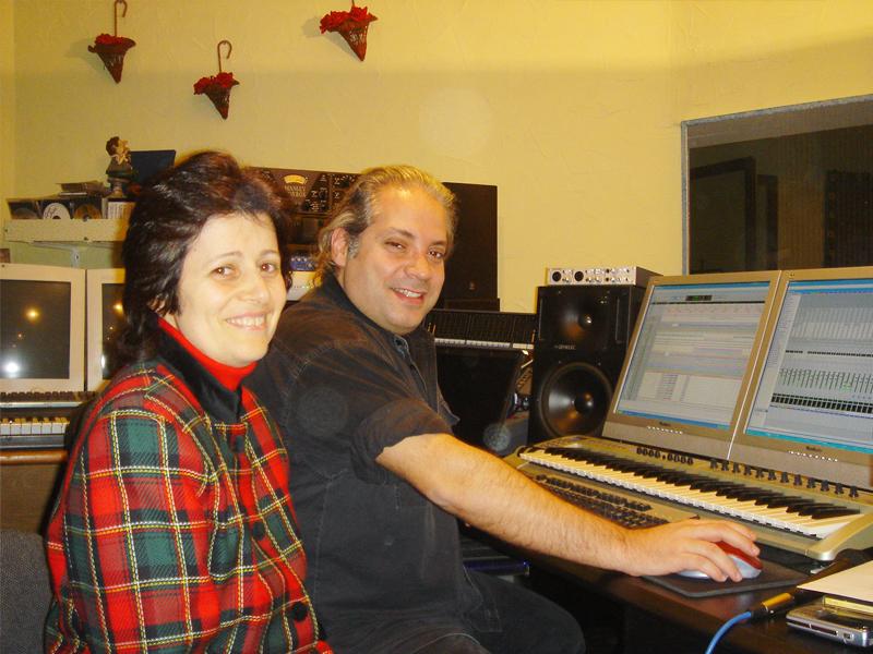 Recording at Roger Abi Akl studio