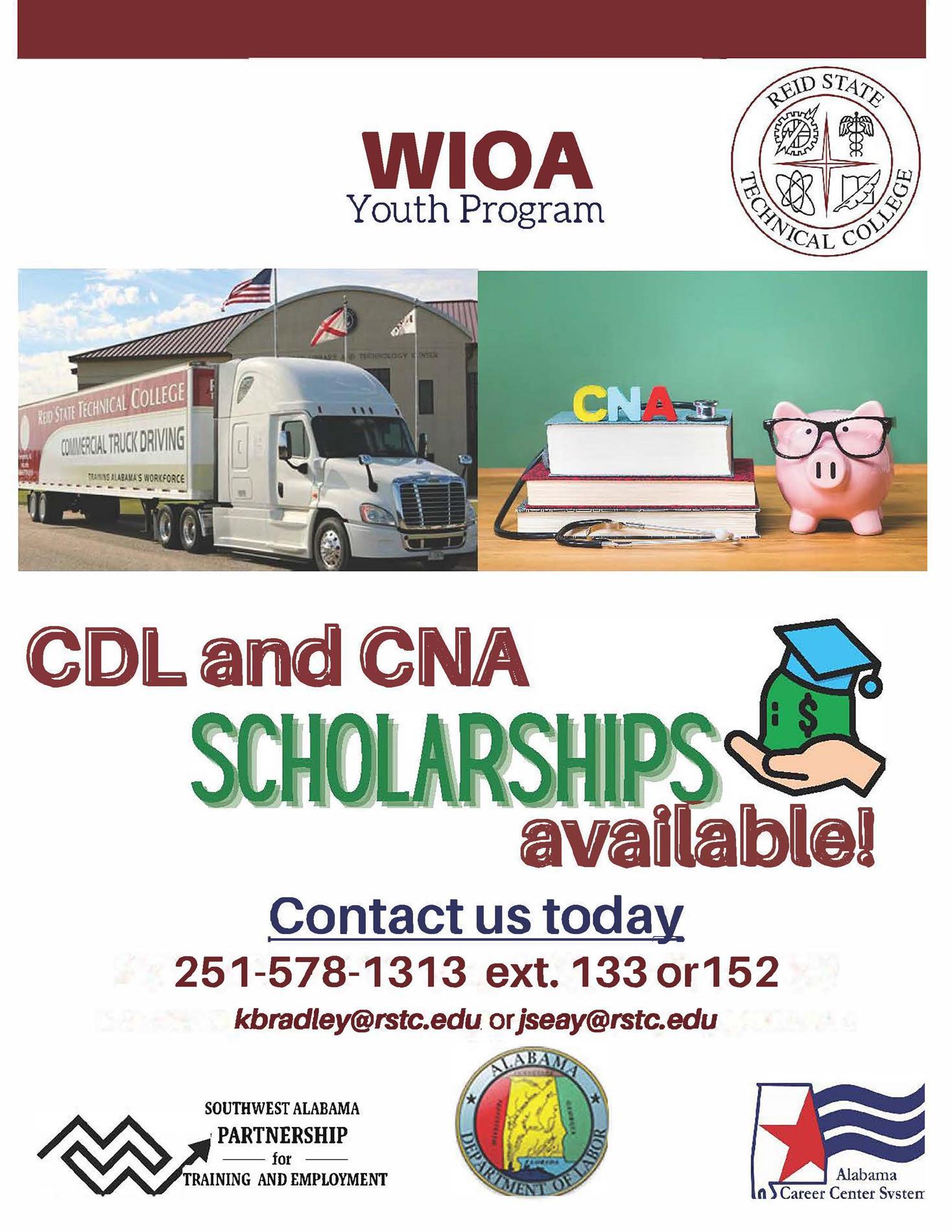 WIOA Scholarship