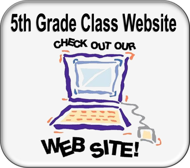 5th Grade Class Website