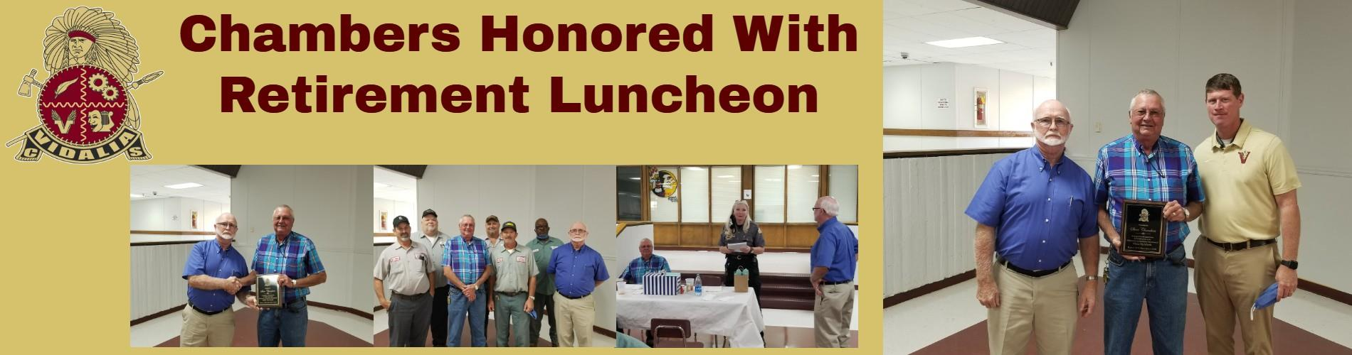 Steve's Retirement Luncheon