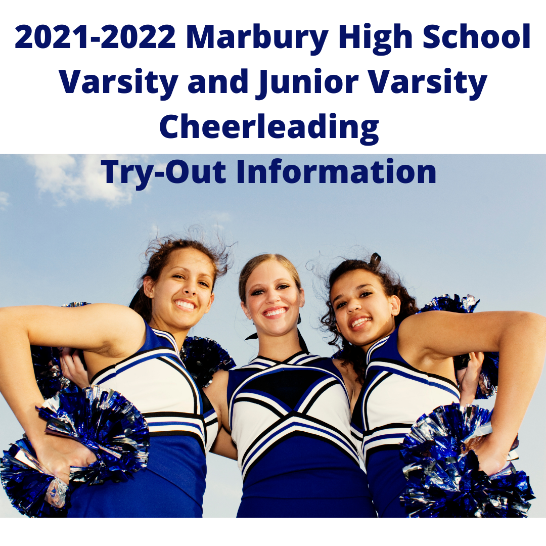 2021-2022 Marbury High School Varsity and Junior Varsity Cheerleading Try-Out Information
