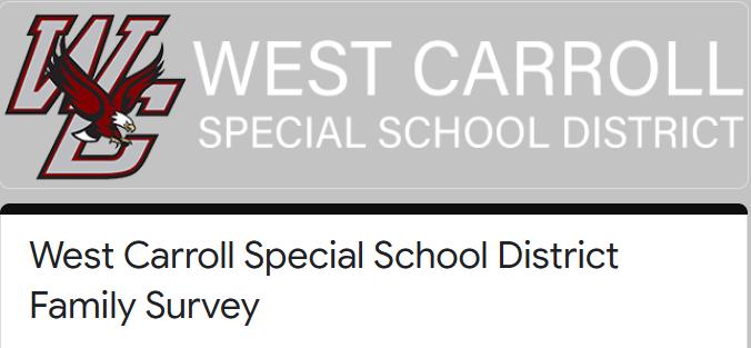 WCSSD Family Survey