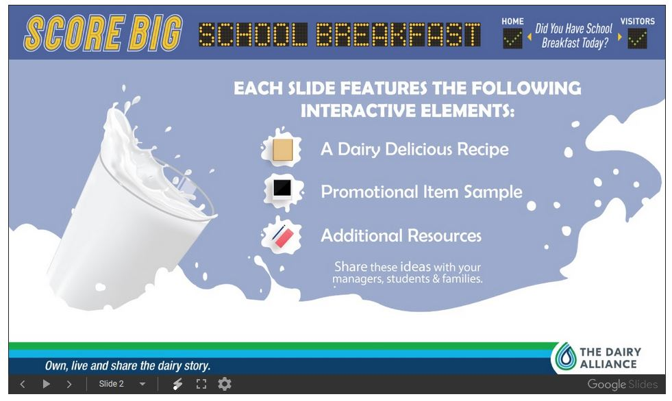 Score Big School Breakfast 2