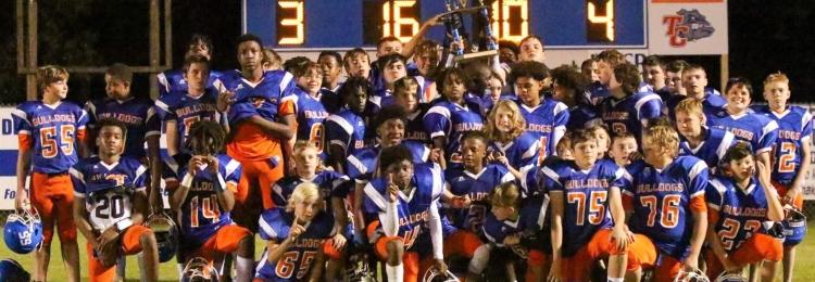 TCMS Football Wins Championship