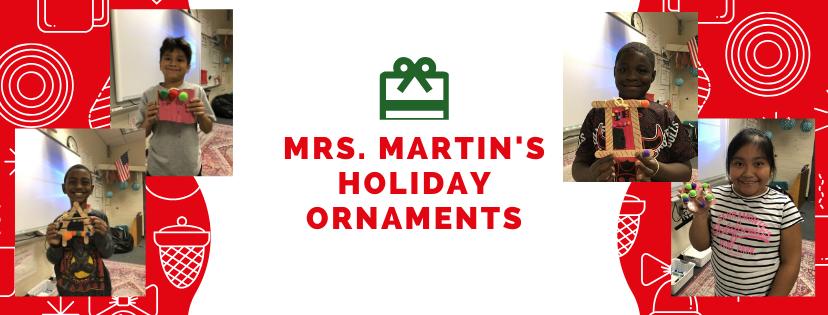 Martin's Holiday Ornaments