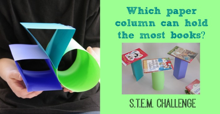 http://creeksidelearning.com/stem-activities-for-kids-how-strong-is-a-piece-of-paper/