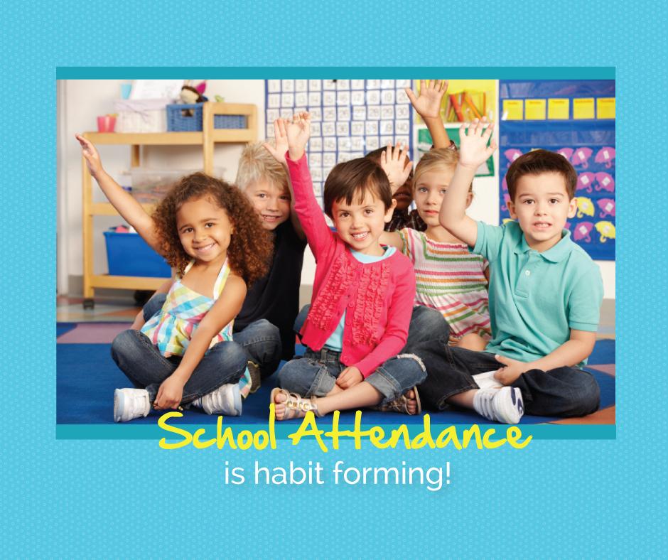 School Attendance Poster
