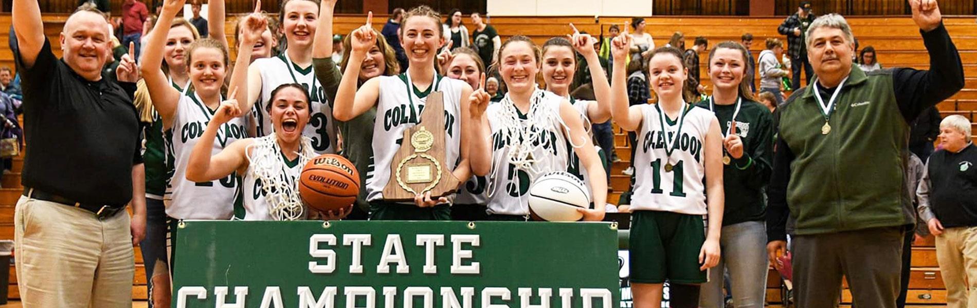Colebrook girls basketball win state championship
