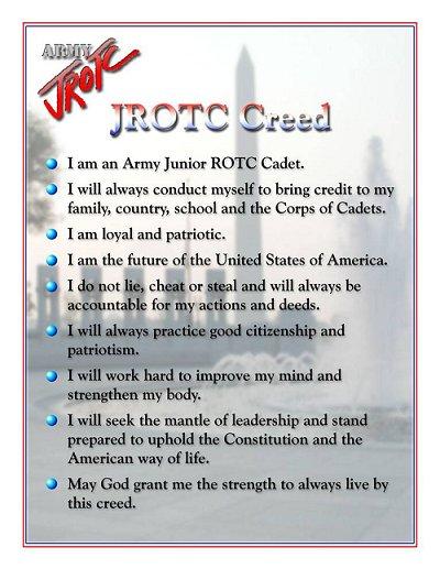 JROTC Creed