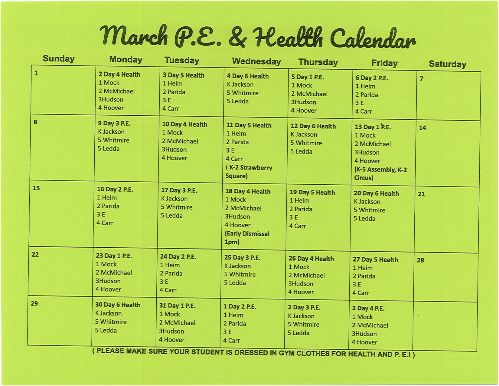 March Health
