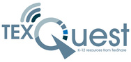 TexQuest link and logo