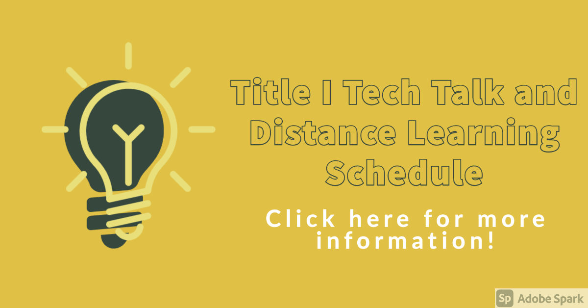 Click here for Tech Talk information!
