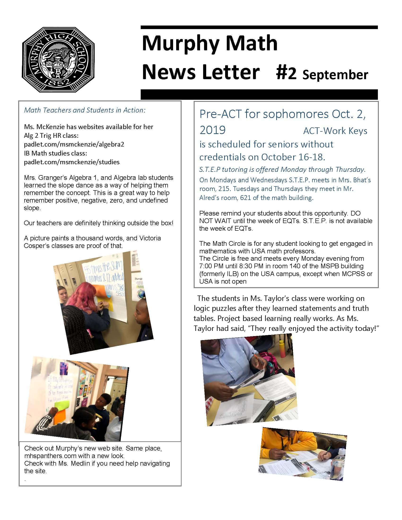 Math News