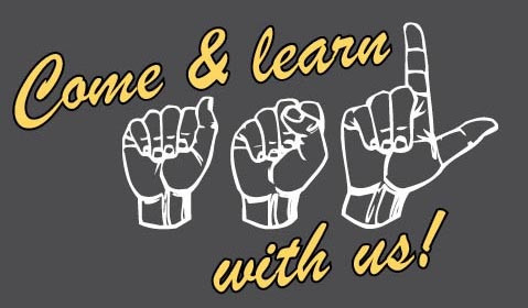 Come and Learn ASL Class