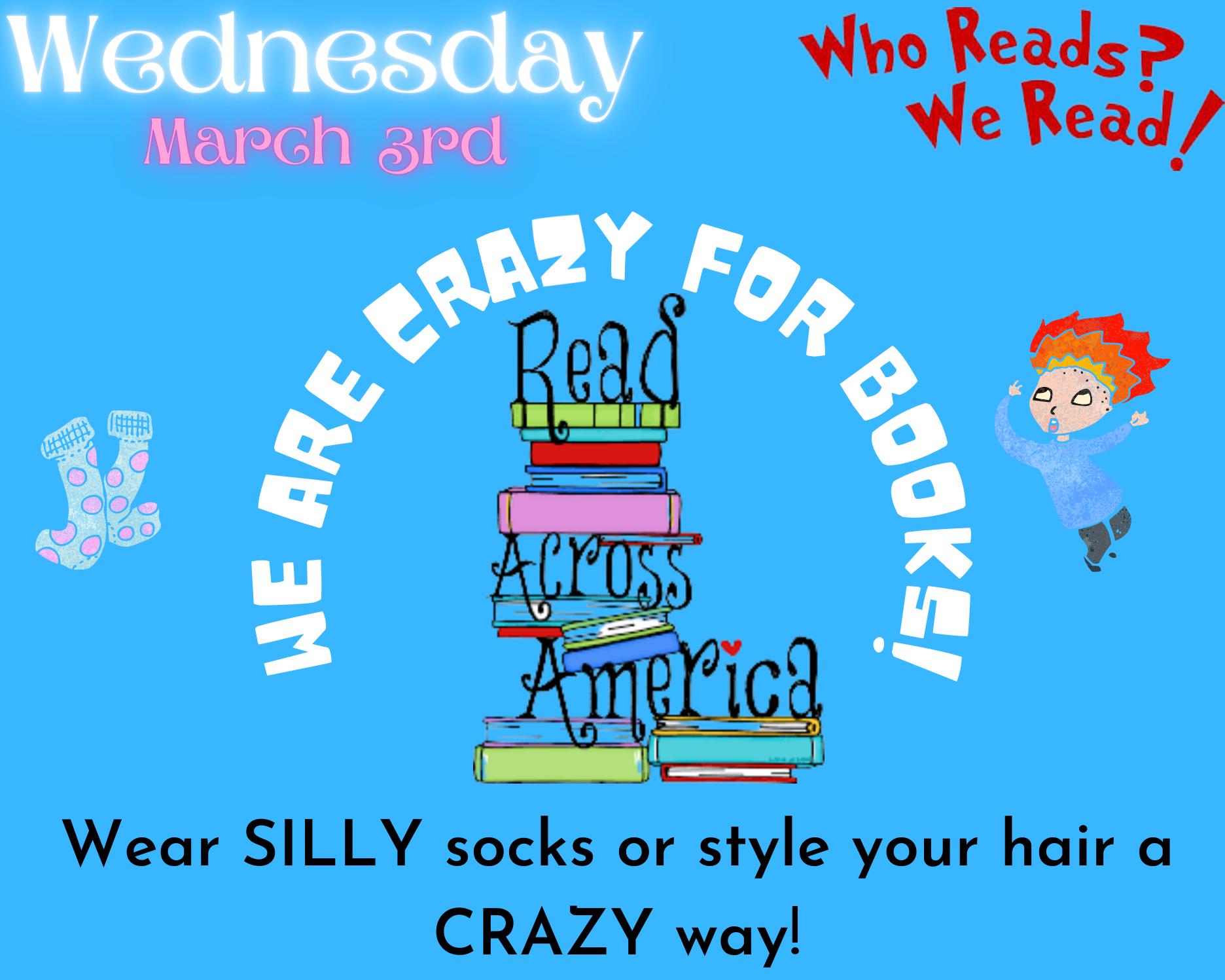 Wednesday Read Across America 2021