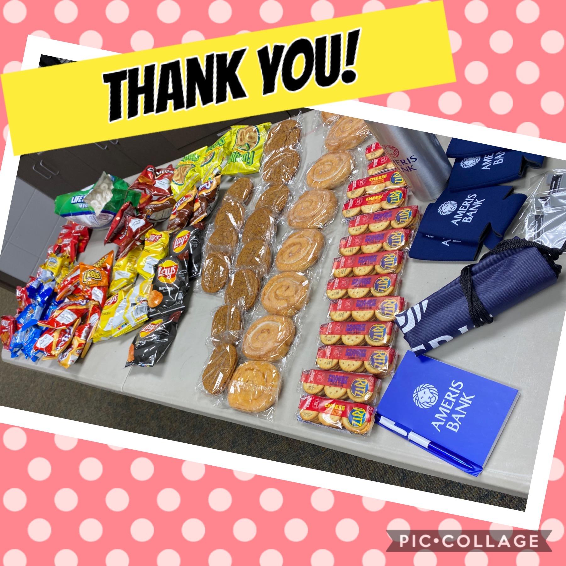 Ameris Bank Thank You