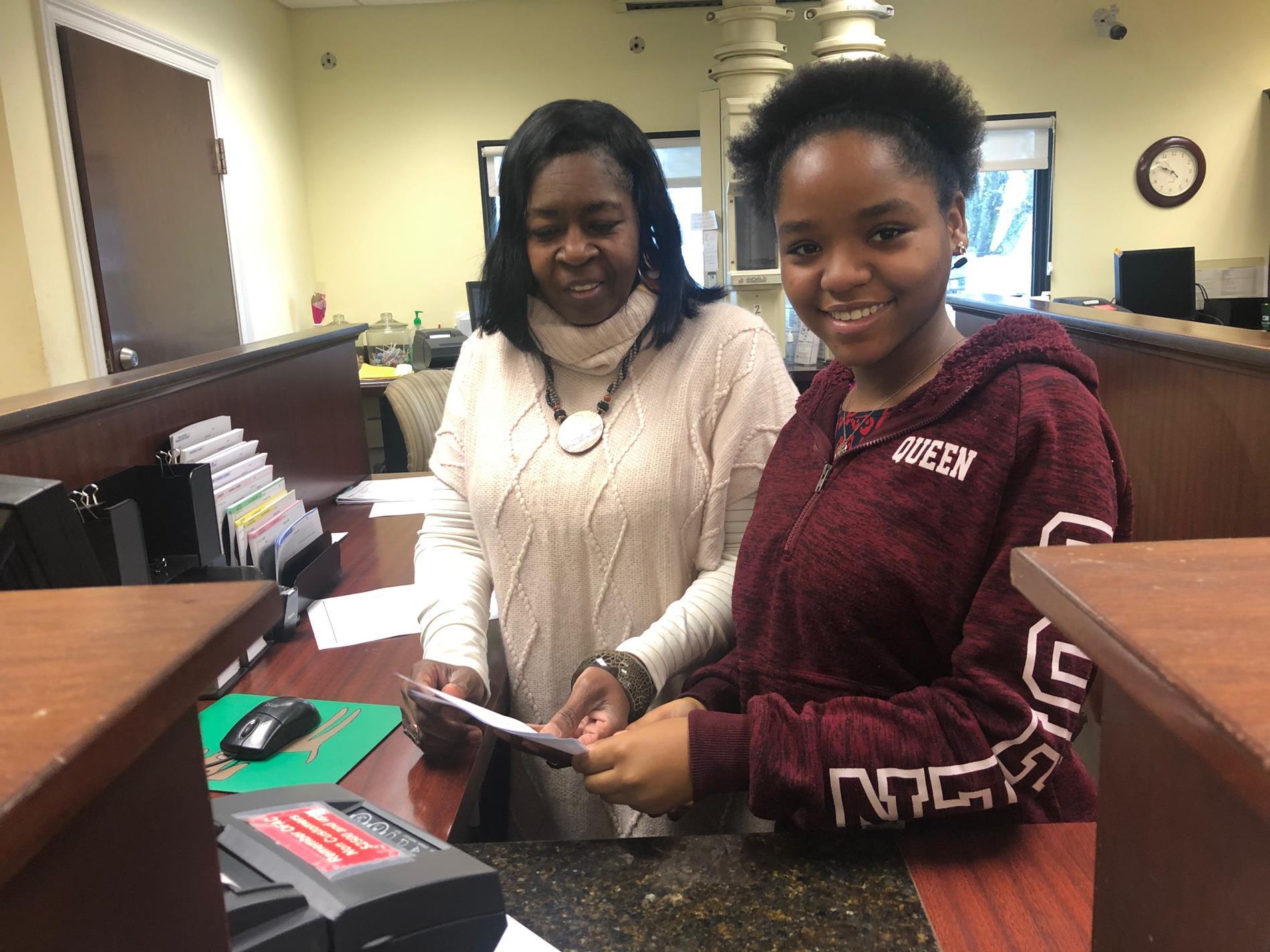 Chimiyia Johnson at Planters Bank