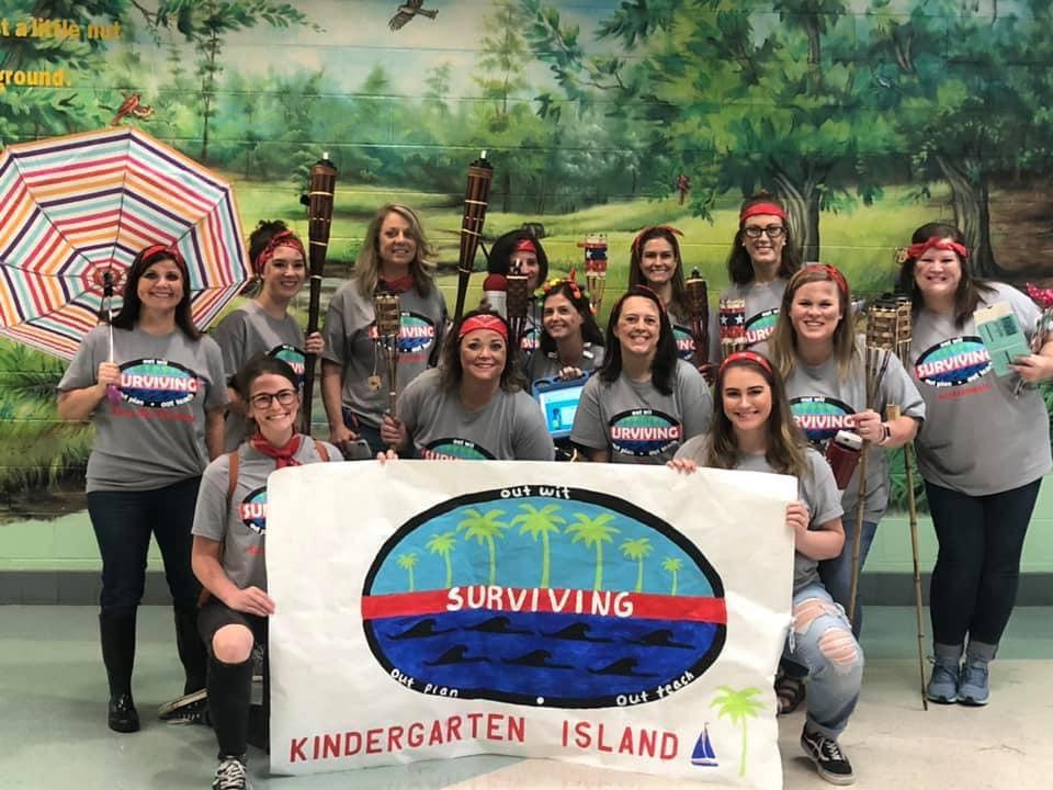 Kindergarten Teachers on Survivor Island!
