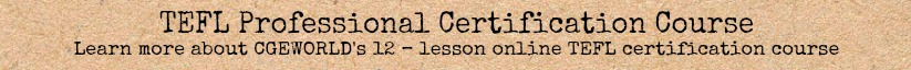 TEFL Professional Certification Course
