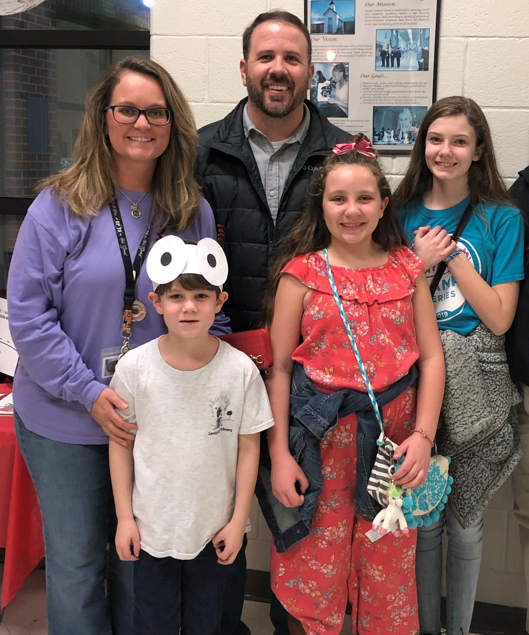 Eli, 6; Emma, 10; Ashlynn, 12; Spring 2020