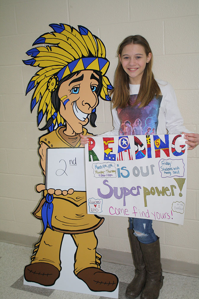 2nd Place poster winner