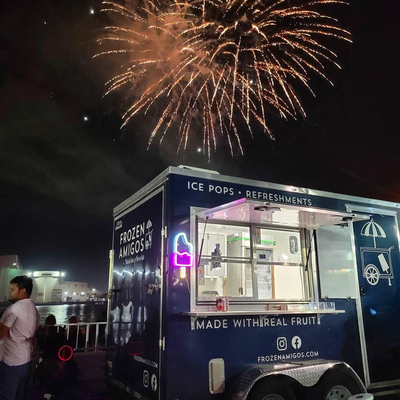 Frozen Amigos Truck fireworks